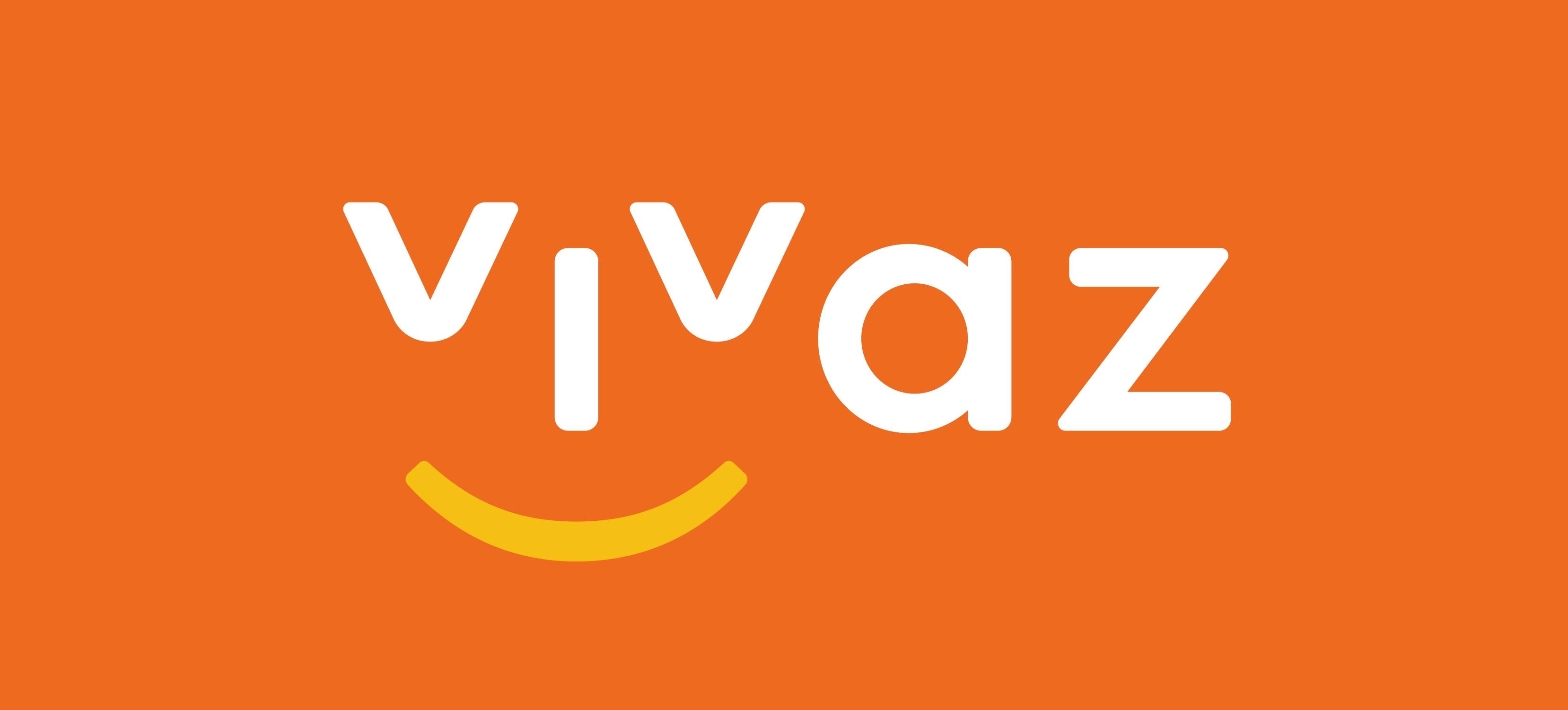 logotipo vivaz mandarina alta resolucion - Compañías